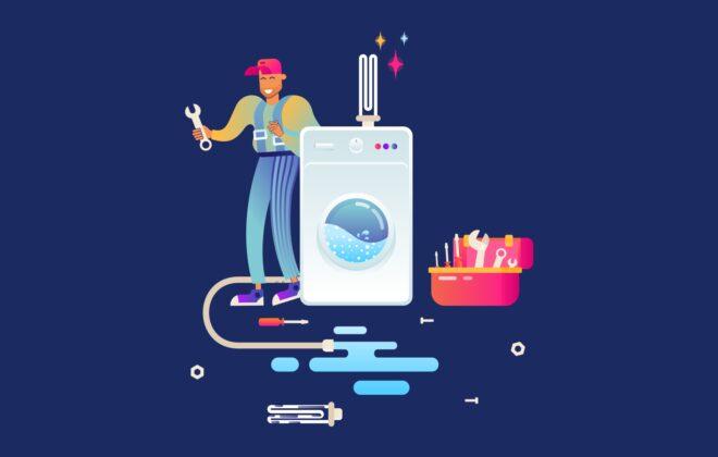 1. Ремонт стиральных машин