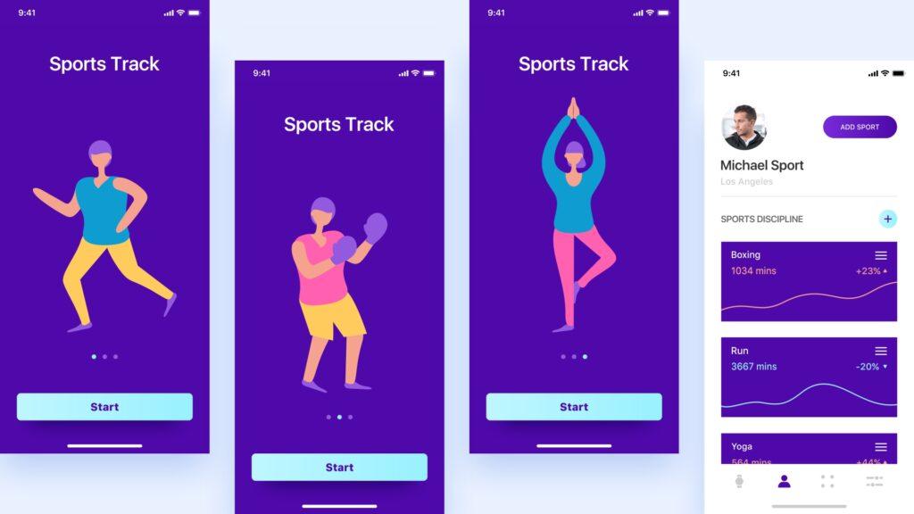 1. Sports Track