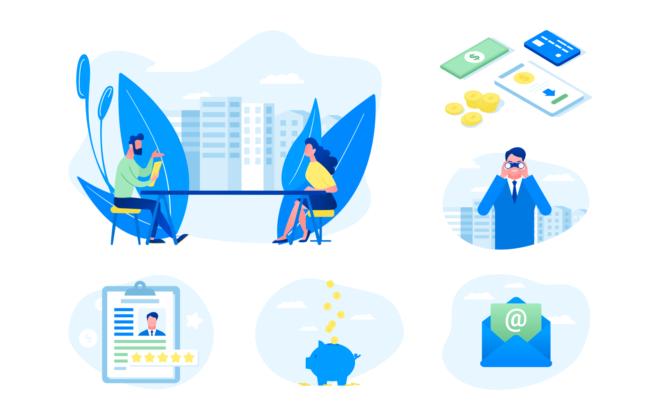 1. illustrations app